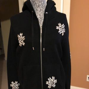 Michael kors hooded sweater size medium